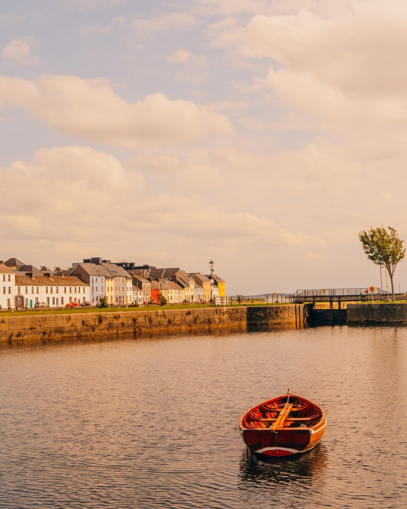The Long Walk in Galway City Ireland