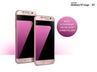 Samsung Galaxy S7 und Galaxy S7 edge in der Farbe pink ...