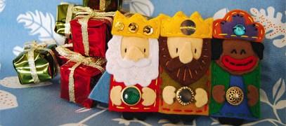 Cómo-hacer-Reyes-Magos-de-Fieltro