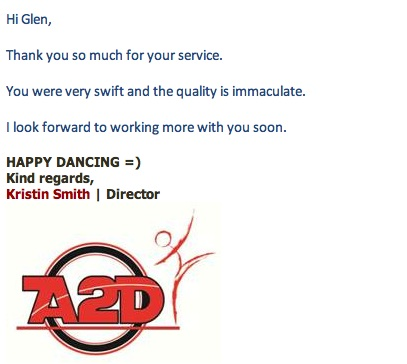 all about signs testimonial