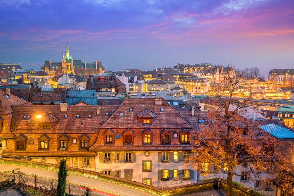 Lausanne Travel Guide - City Skyline