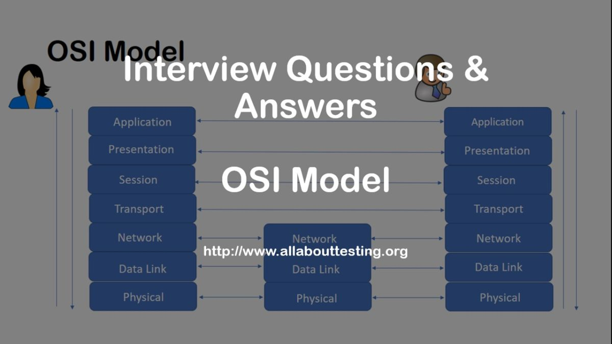 Top 10 Interview Questions U0026 Answers   OSI Model