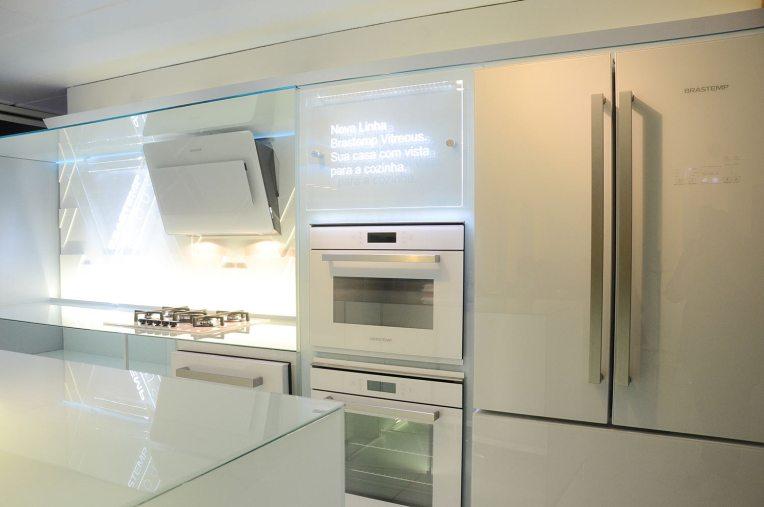 cozinhas em vidro