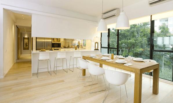 prateleira de vidro para cozinha americana - All About That Glass