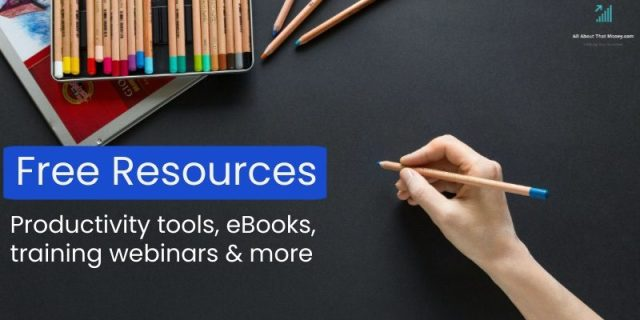 All About That Money - free tools and resources