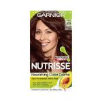 Garnier Nutrisse Nourishing Hair Color Creme, 415 Soft Mahogany Dark Brown