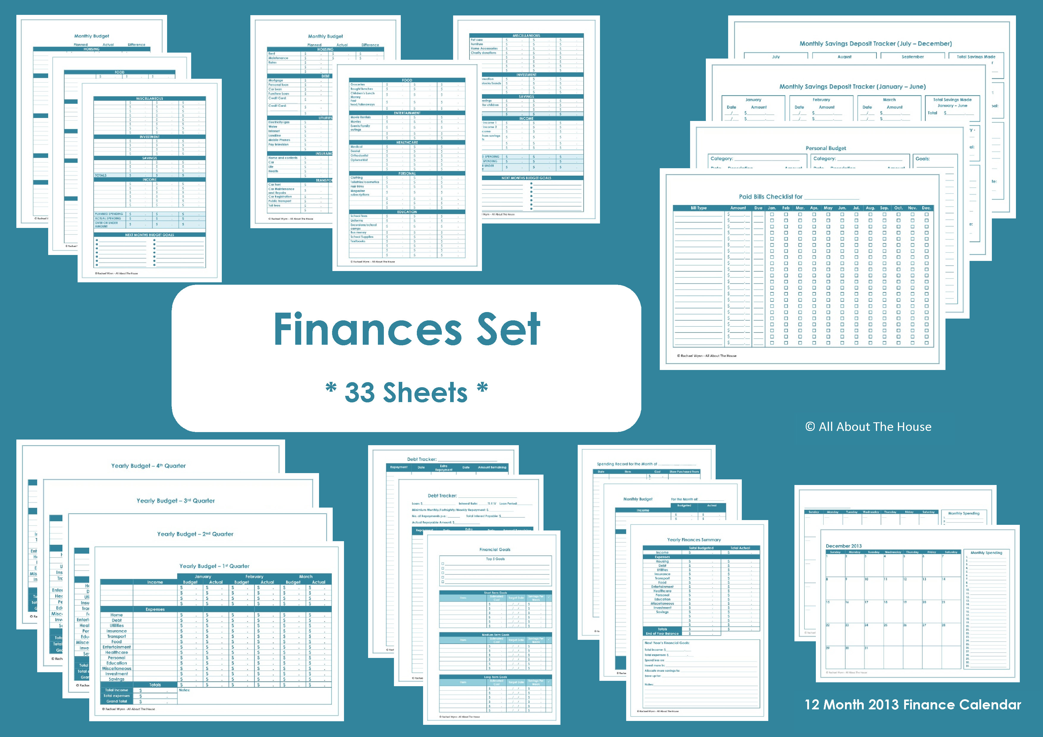 Printable Financial Planner