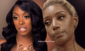 Nene Leakes and Porsha Williams