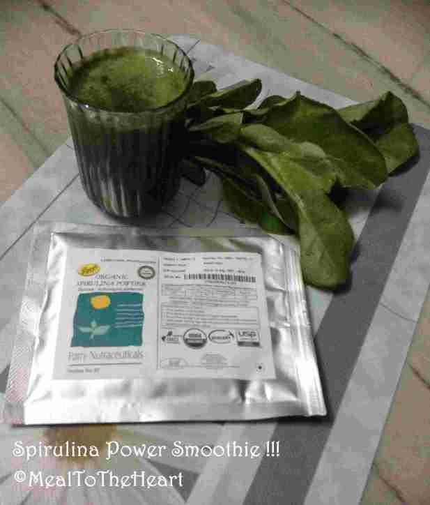 Spirulina Power Smoothie