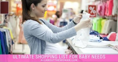 The Big And Ultimate Shopping List For Baby Needs