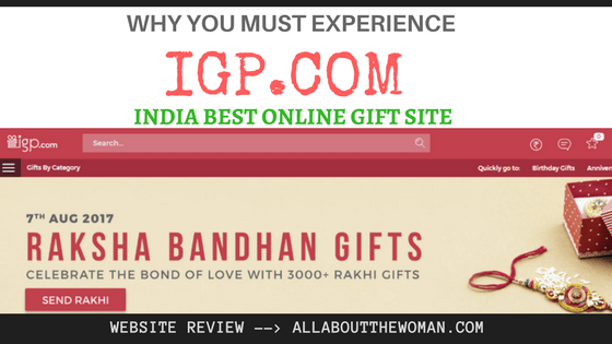 Why You Must Experience IGP.com India Best Online Gift Site
