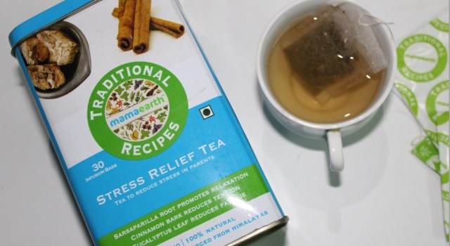 How Stress Relief Tea eases Parenting Stress