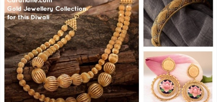 Caratlane.com Gold Jewellery Collection for this Diwali
