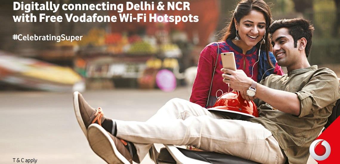 Vodafone Super Initiatives to make Delhi into a better city