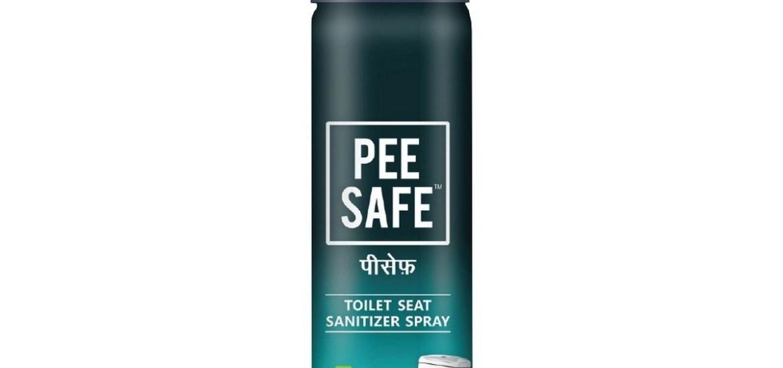 Toilet Hygiene with Pee Safe Toilet Seat Sanitizer Spray