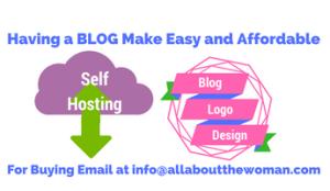 blog hosting logo designing