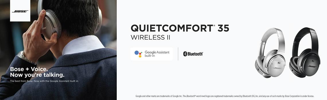 Bose QC35 II headphones