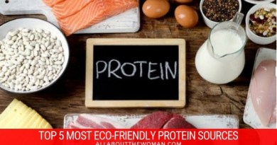 TOP 5 MOST ECO-FRIENDLY PROTEIN SOURCES