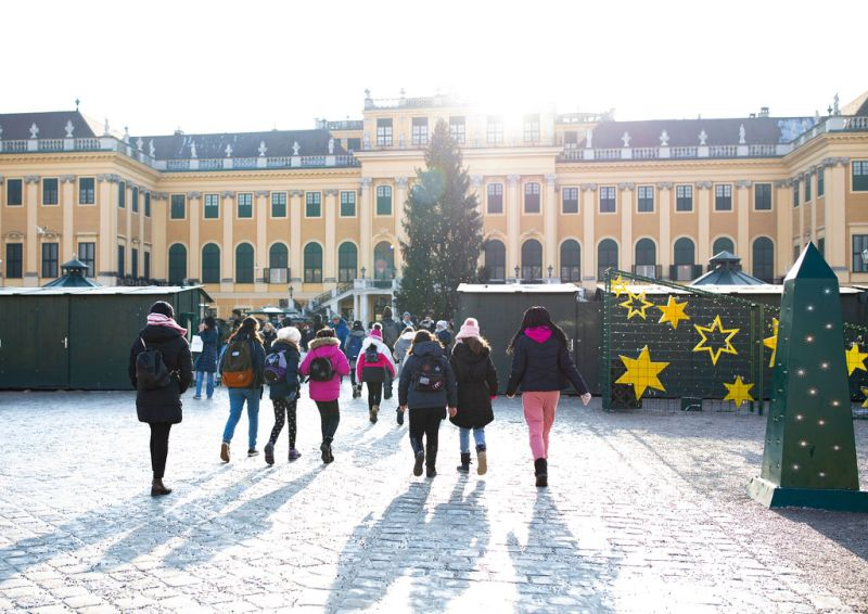 What to pack for Vienna visit - Schonbrun winter