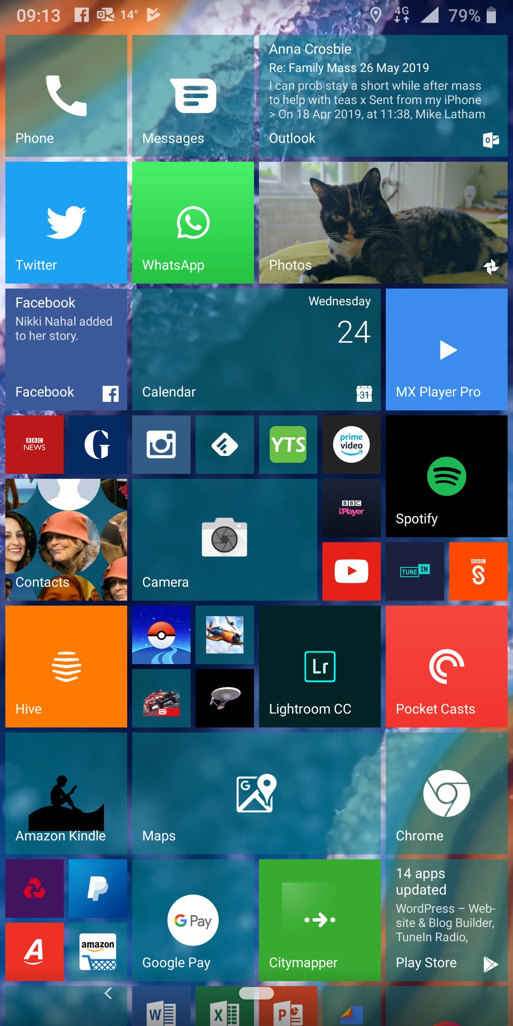 Nokia Lumia Launcher : nokia, lumia, launcher, Launcher10, Tiles, Android
