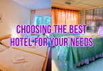 choose hotel for your needs