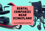 Wheelchair rental company