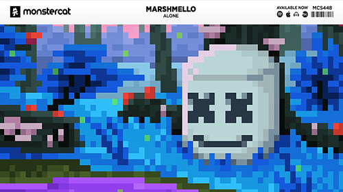 Listen to new music by Marshmello - Alone out now on Monstercat.