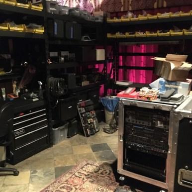 Dave Friedman's work-tech area