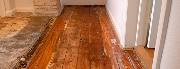 Drying Wood Floors After Water Damage
