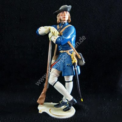 138 Musketeer, painted