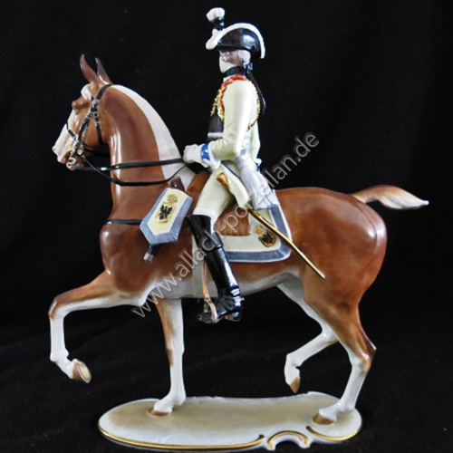 17 Seydliß-Cuirassier-Officer, painted - view from right