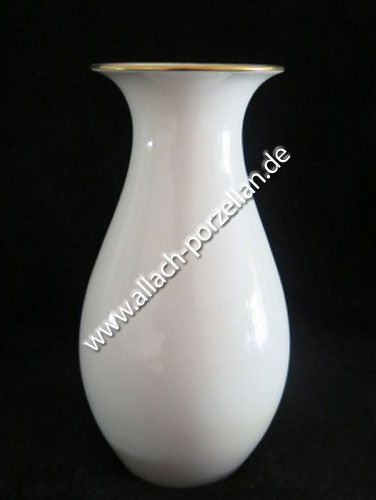 504 Porzellan-Vase mit Goldrand