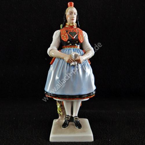 53 Hessian female peasant, painted