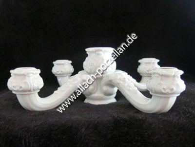 23a Tafelleuchter mit Vase, 4 kerzig