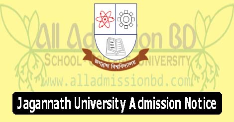 Jagannath University Admission Notice