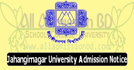 Jahangirnagar University Admission Notice
