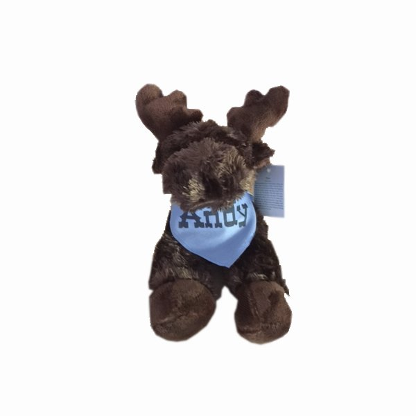 Andy the Stuffed Moose