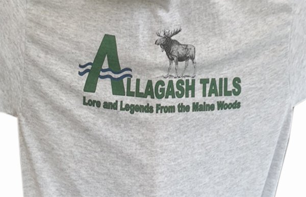 allagash moose tshirt