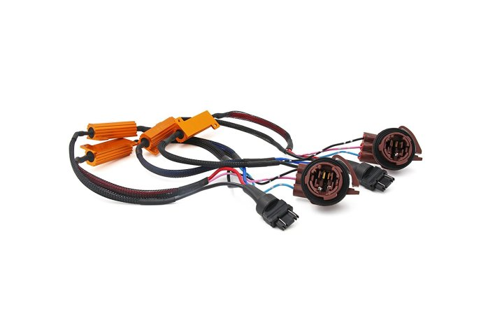 T25 3157 4157 3057 LED 50W 6ohm Load Resistors Fix Signal Light Hyper Flash