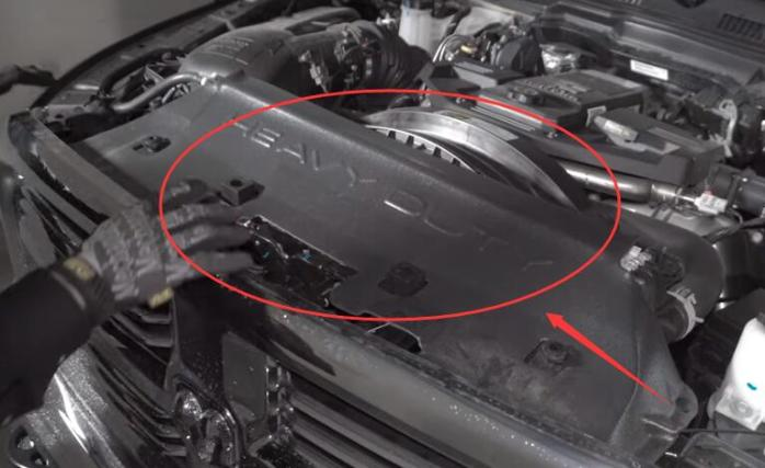 2019 2020 Dodge Ram 1500 High Beam Headlight Removal Upgrade Change Replace Cover