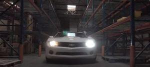 Chevy Camaro LED Headlights Bulb VS Halogen Light Comparison