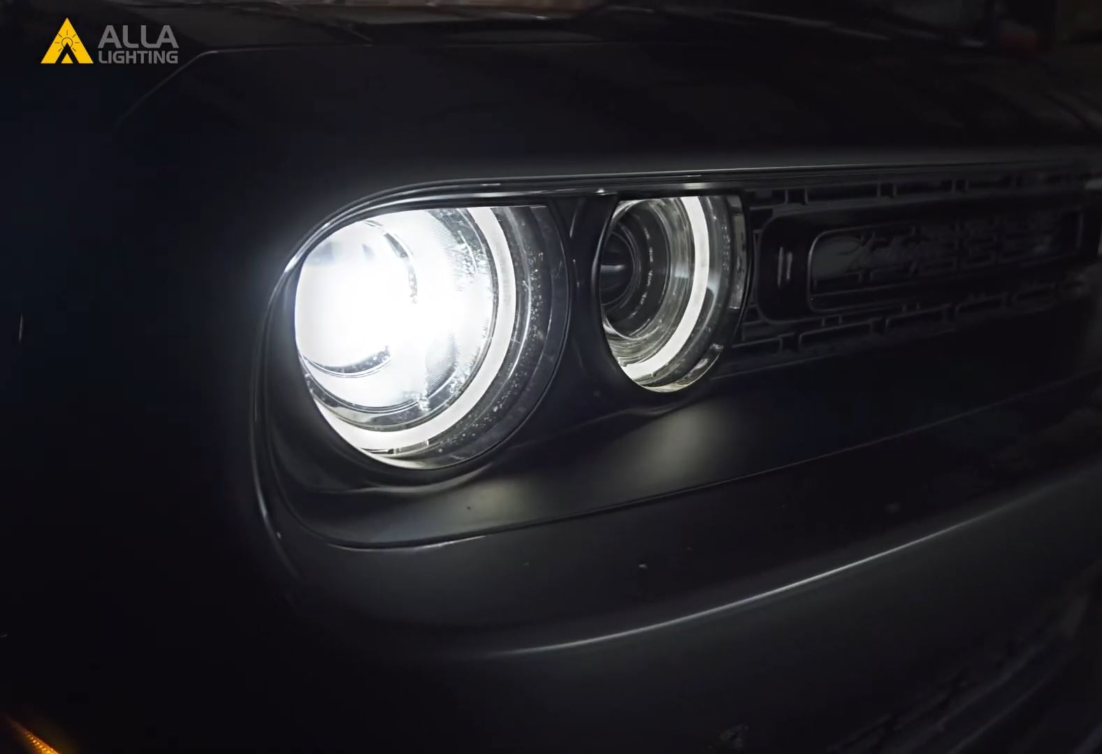 2015-2020 Dodge Challenger Headlight Upgrade and install Best Brightest LED 71
