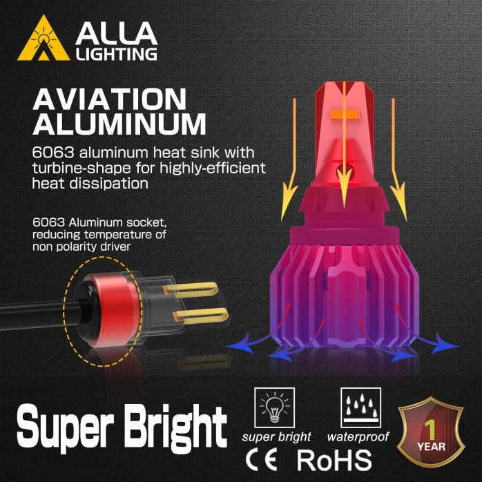 Best and Brightest Error Free Reverse bulb 1860-3000W LED bulb NEW 22