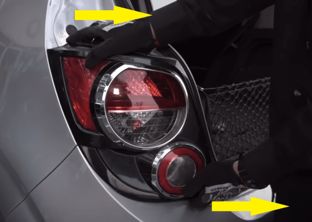 2013 Chevy Sonic LED STROBE Brake Light 19