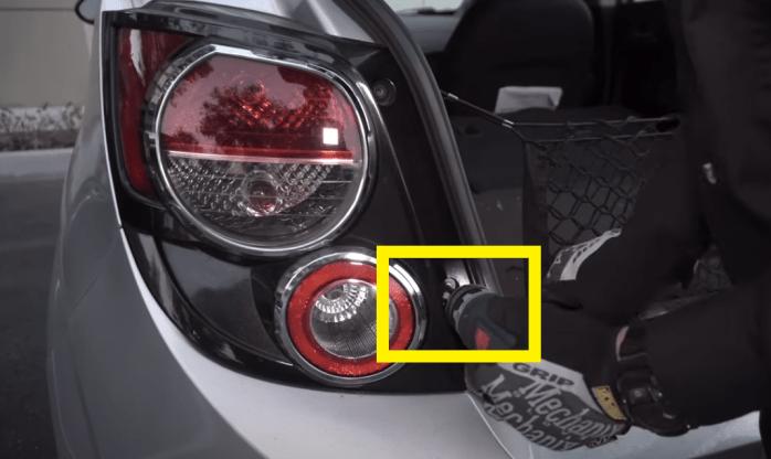 2013 Chevy Sonic LED STROBE Brake Light 18