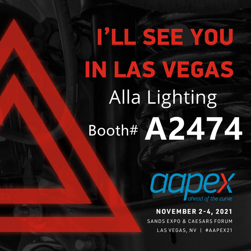 aapex-2021-alla-lighting-booth-a2474-aftermarket-led-lights-bulbs