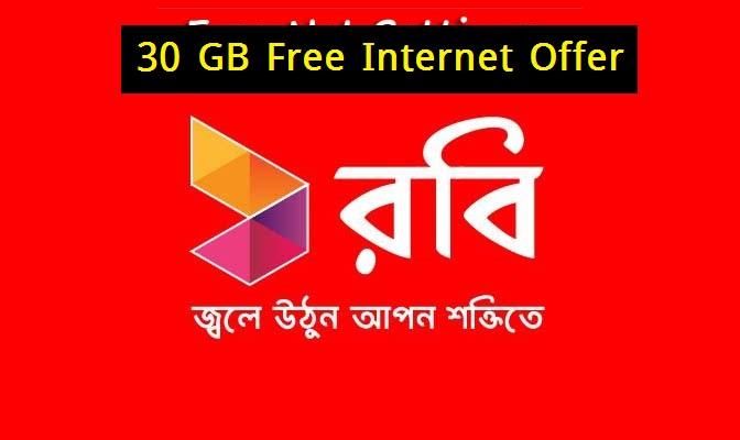 Robi Internet offer in Bangladesh