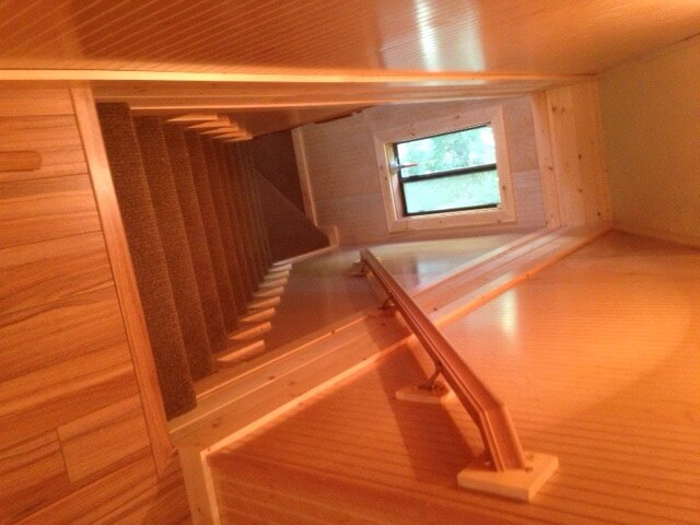 Twin Lakes Rathdrum Idaho Cabin Remodel Stairway  All