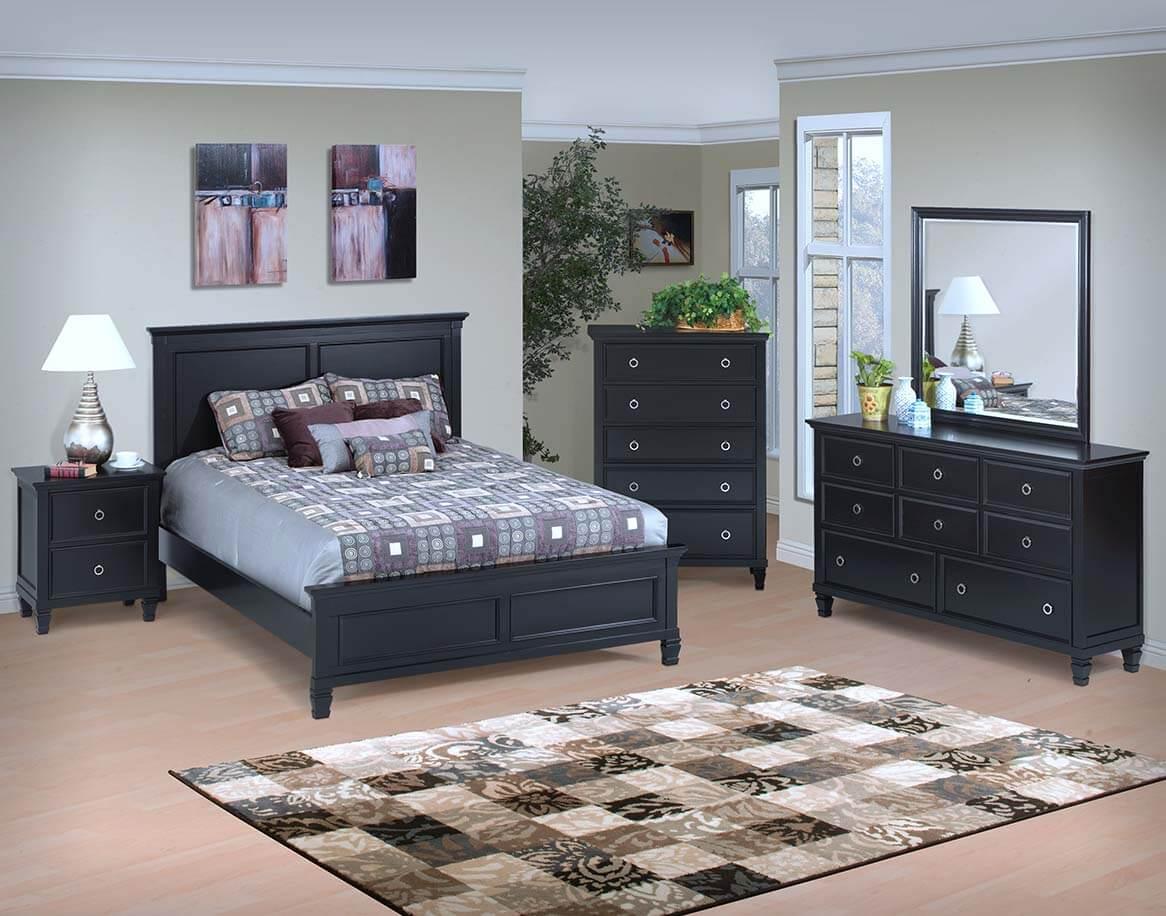 tamarack bedroom black