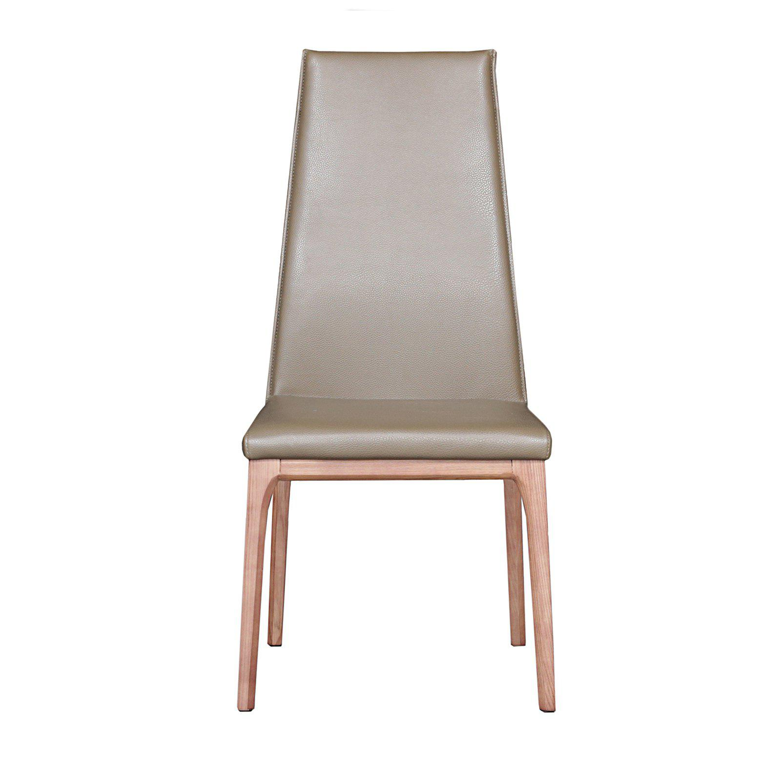 Modern Taupe Dining Chair  Luca